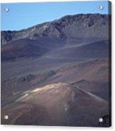 Volcanic Cinder Cones In Haleakala Acrylic Print