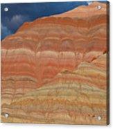 Volcanic Rainbow Acrylic Print