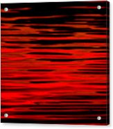 Volcanic Water Acrylic Print