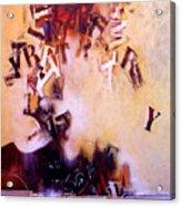 Volcano Poet Acrylic Print