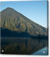 Volcano Reflected In Atitlan Lake 5 Acrylic Print