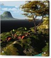Volcano View Acrylic Print