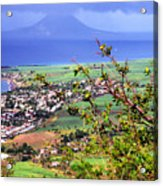 Volcano Viewed From Brimstone Hill Acrylic Print by Thomas R Fletcher