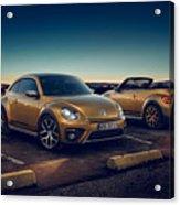 Volkswagen Beetle Dune 4k 2 Acrylic Print