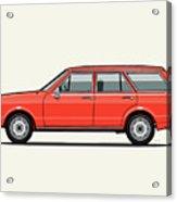 Volkswagen Dasher Wagon / Vw Passat B1 Variant Acrylic Print