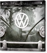 Volkswagen Vw Bus -0108ac Acrylic Print