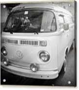 Volkswagen Westfalia Camper Acrylic Print by Stefano Senise