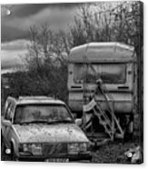 Volvo And Trailer Acrylic Print