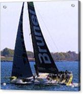 Volvo Ocean Race Team Brunel Acrylic Print