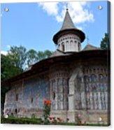 Voronet Monastery Acrylic Print