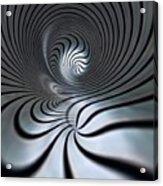 Vortex In Metal  Acrylic Print