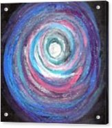 Vortex Of Love 2 Light Is Wave And Particle Acrylic Print