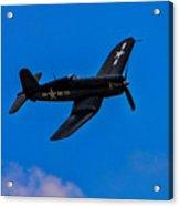 Vought F-4u Corsair Acrylic Print