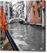 Voyage Of Venice Acrylic Print
