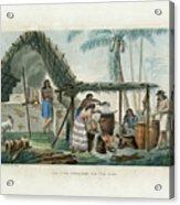 Vue Dune Distillerie Sur L Ile Guam Distillery Scene On Guam Acrylic Print