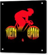 Vuelta A Espana Acrylic Print
