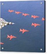 Vulcan And Hawks Acrylic Print