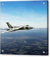 Vulcan In Flight 2 Acrylic Print