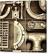 Vulcan Steel Steampunk Ironworks Acrylic Print
