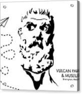 Vulcan's Airplane Acrylic Print
