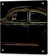 1966 Vw Bug Acrylic Print
