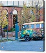 V W Bus Acrylic Print