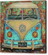 Vw Van Acrylic Print