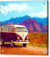 Vw Van Classic Acrylic Print