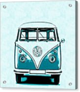 Vw Van Graphic Artwork Acrylic Print