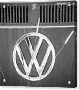 Vw Van Logo Acrylic Print