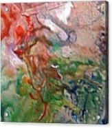 W 019 - Amoebae Acrylic Print