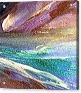W 034-comet Acrylic Print