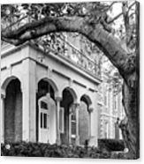Wabash College Center Hall Acrylic Print