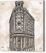 Wabash Station Pittsburgh, Pennsylvania, Circa 1905 Acrylic Print