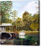 Waccamaw River Sloop Acrylic Print
