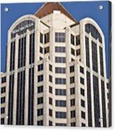 Wachovia Tower Roanoke Virginia Acrylic Print
