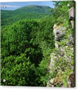 Wachusett Mountain From Crow Hill Acrylic Print