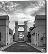 Waco Historical Suspension Bridge Acrylic Print
