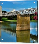 Waco Suspension Bridge 2 Acrylic Print