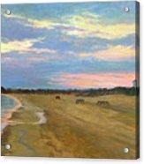 Wades Beach Sundown Study II Acrylic Print