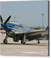 Wafb 09 P-51 Mustang 3 - Darling Of The Sky Acrylic Print