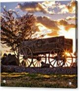 Wagon Hdr Acrylic Print