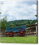 Wagon Hoa Acrylic Print