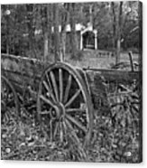 Wagon In The Woods Acrylic Print