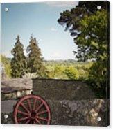 Wagon Wheel County Clare Ireland Acrylic Print