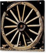 Wagon Wheel Texture Acrylic Print