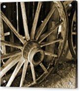 Wagon Wheels 3 Acrylic Print