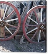 Wagon Wheels. Acrylic Print
