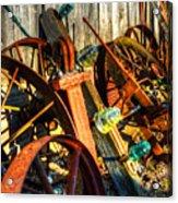 Wagons Whoa Acrylic Print