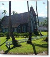 Wai Oli Hui Ia Church Acrylic Print